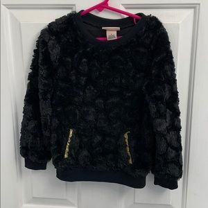 Girls Juicy Couture black long sleeve size 5